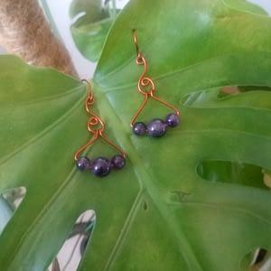 boucles d'oreilles en améthyste-boutiquecarioca.com